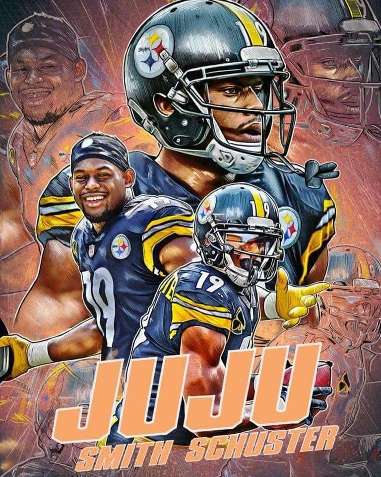 separation shoes f889b 5f3dd JU JU SMITH SCHUSTER #NFLFootballBoys | sports | Pittsburgh ...