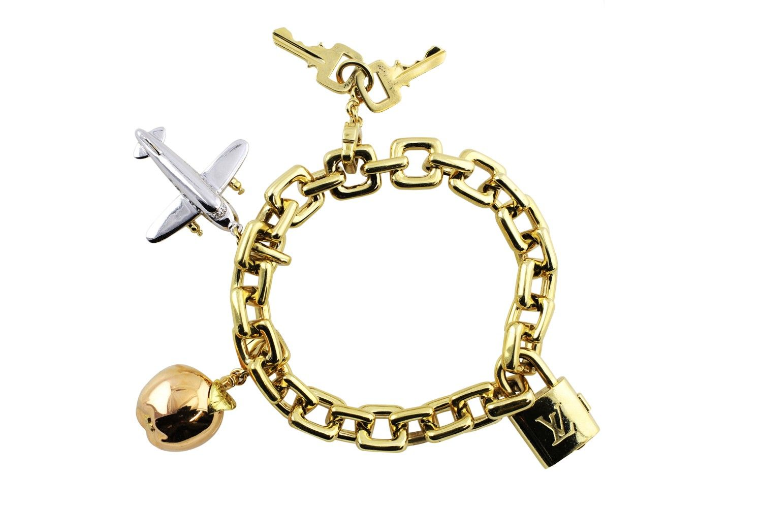 Louis vuitton charm bracelet lvmh pinterest louis vuitton