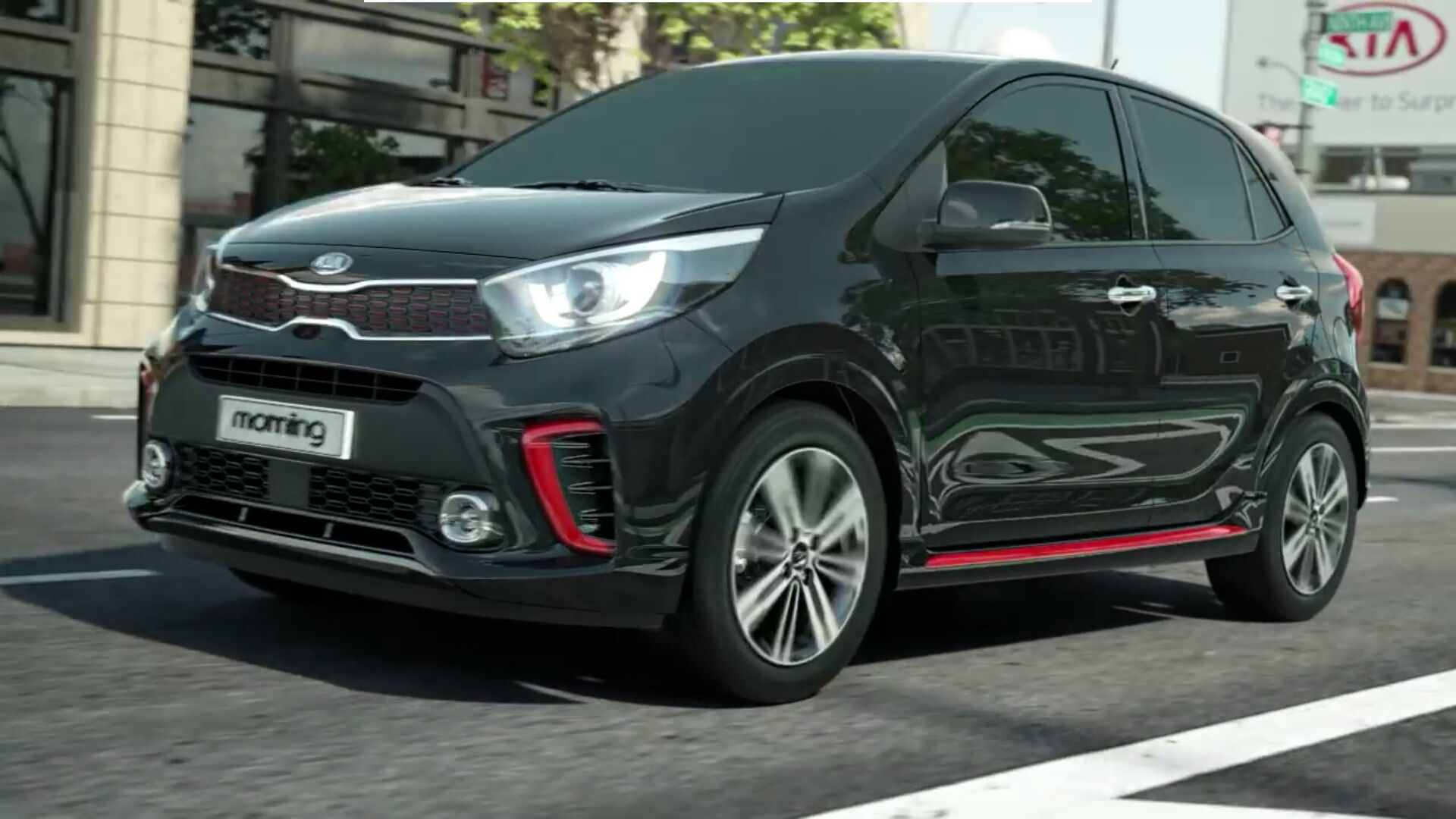 New Technology And New Design All New Kia Picanto Morning 2017