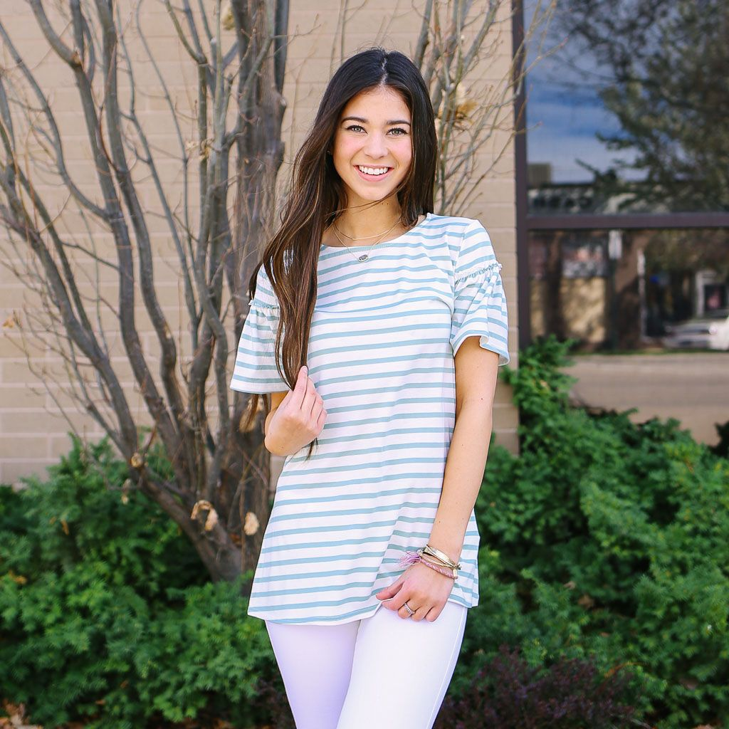 Campbell Stripe Top