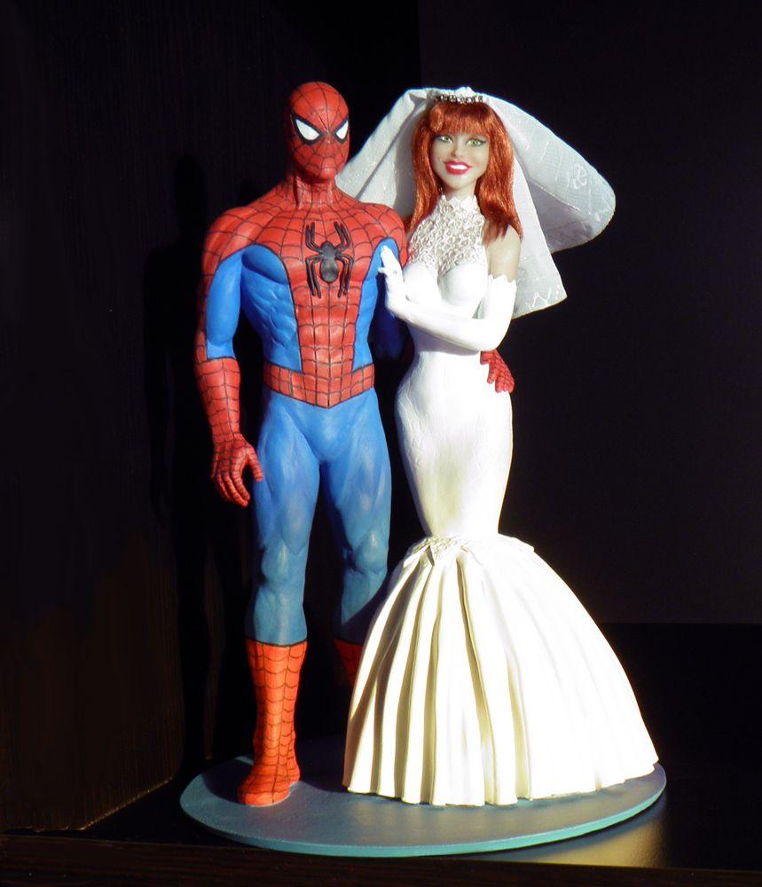 Shark Wedding Cake Topper