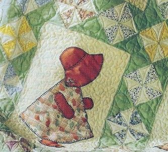 "Sunbonnet Sue Quilt Designs | Sunbonnet Sue in Color Quilt Pattern""""""""'"""""""" 