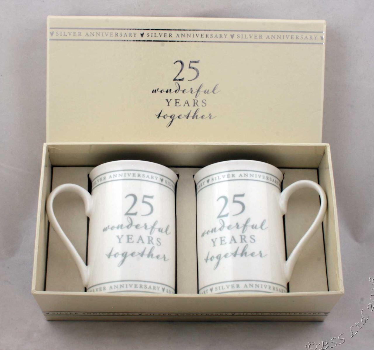 25th anniversary gift set