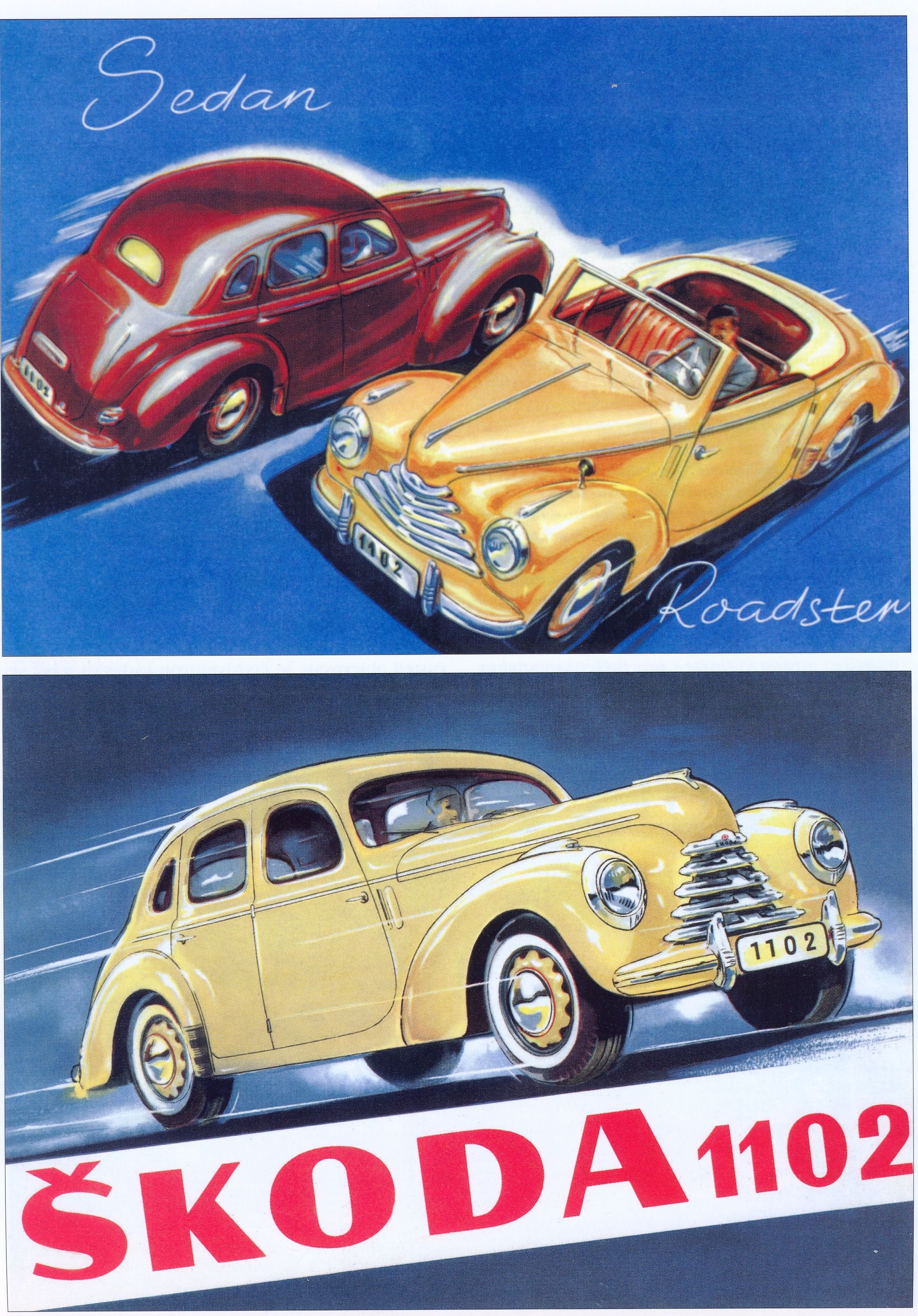Škoda 1102 car poster   posters   Pinterest   Car posters, Cars and ...