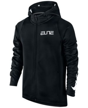 6167e237fa70 Nike Boys  Therma Elite Full Zip Hoodie - Black S