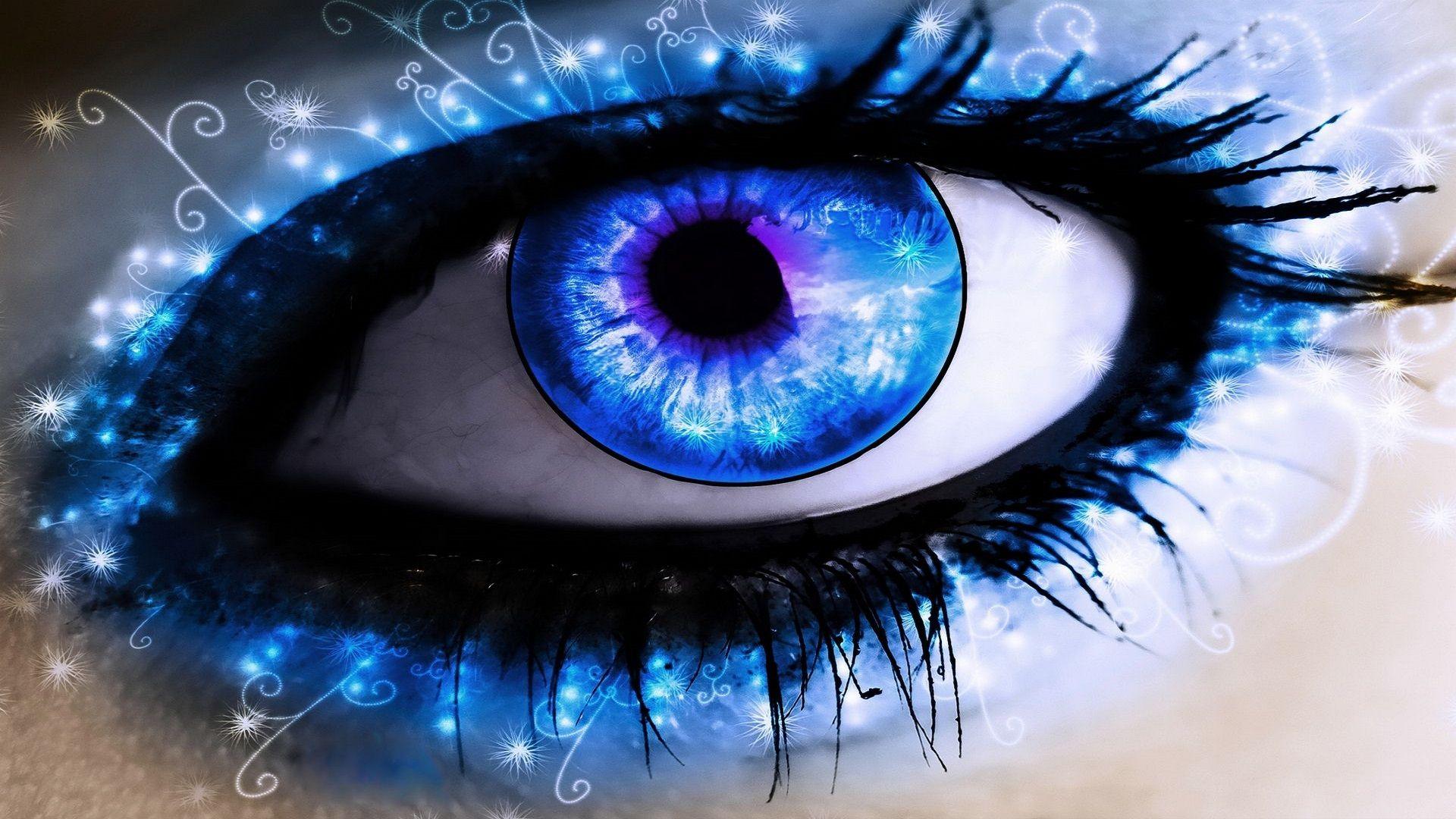 Eyes Wallpaper  Augen, Vampir augen, Blaue augen
