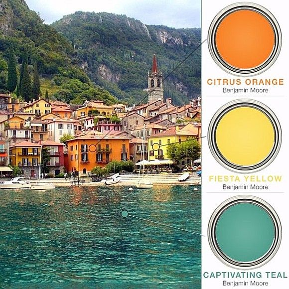 Mediterranean Backyard Color Schemes Color Palette