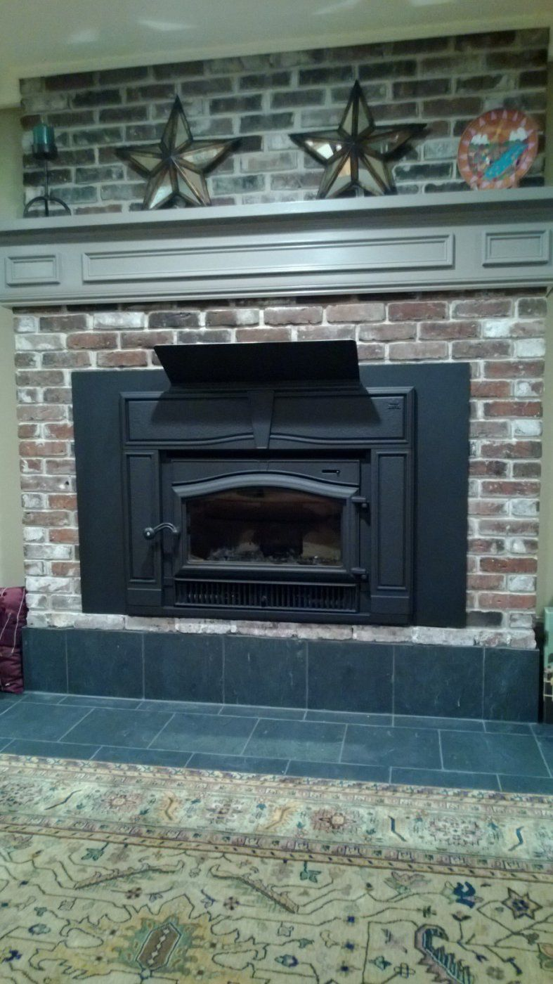 Mantle and Stove