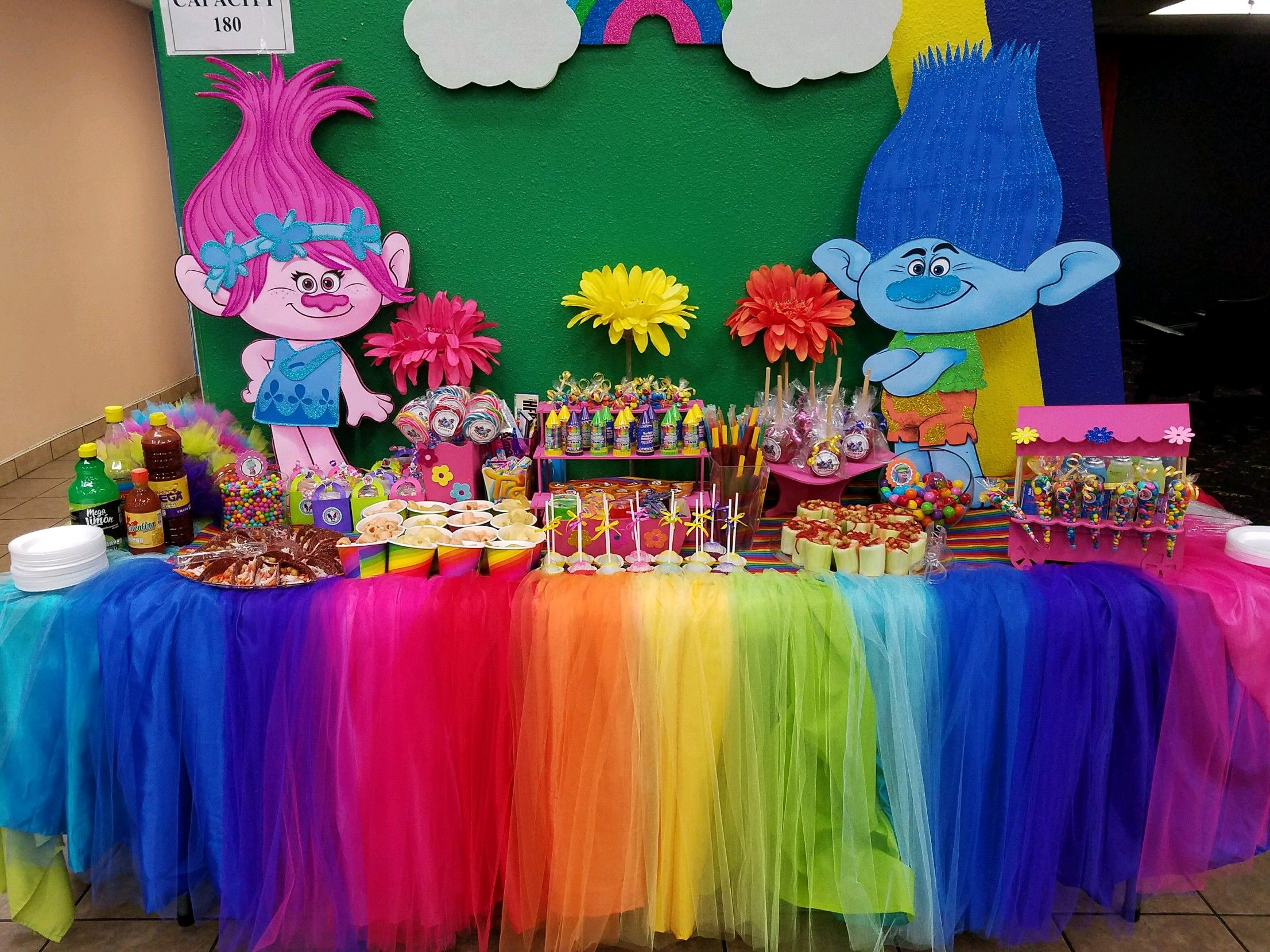 Pin By Kori Peri On Trolls Party Candy Bar In 2019 Candy