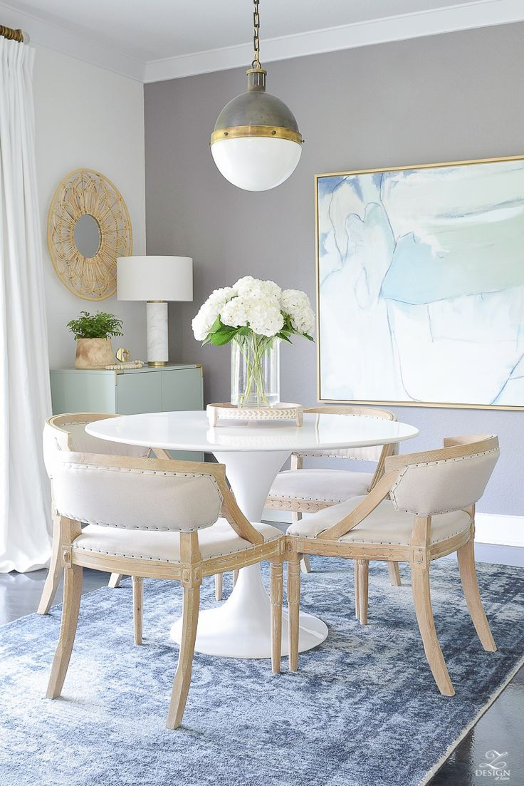 Late Summer Refresh Tips & Tour Living room kitchen