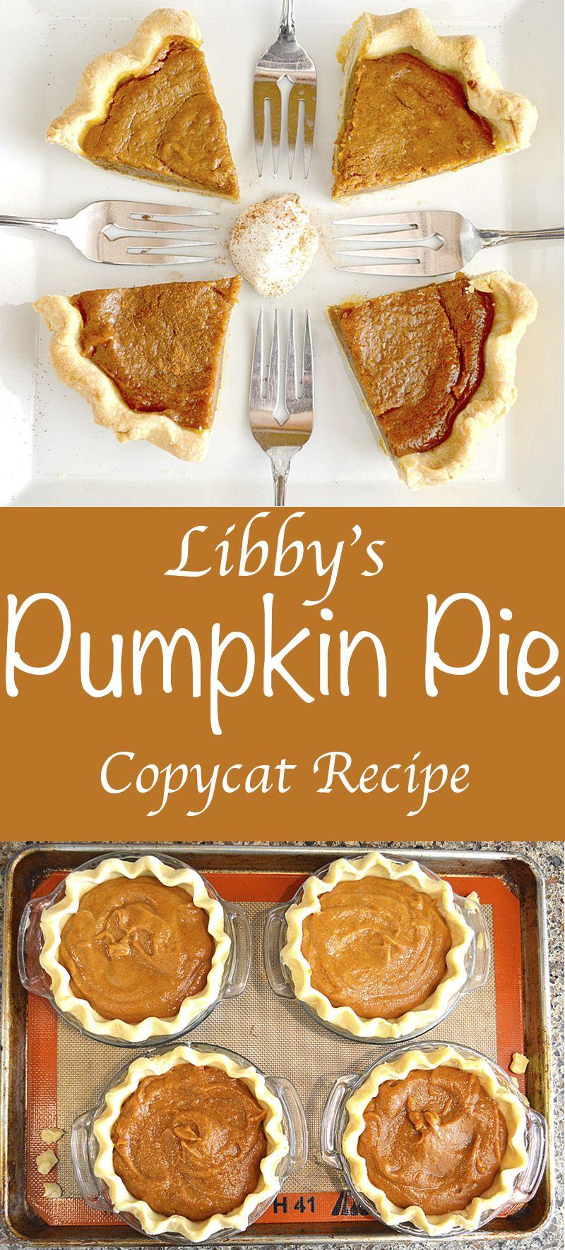 Libby's Pumpkin Pie Copycat Recipe (Vegan) | Rețetă | Ziua ...