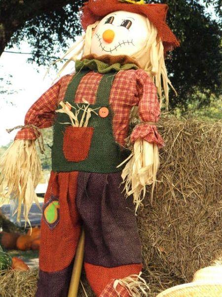 how to make a scarecrow face