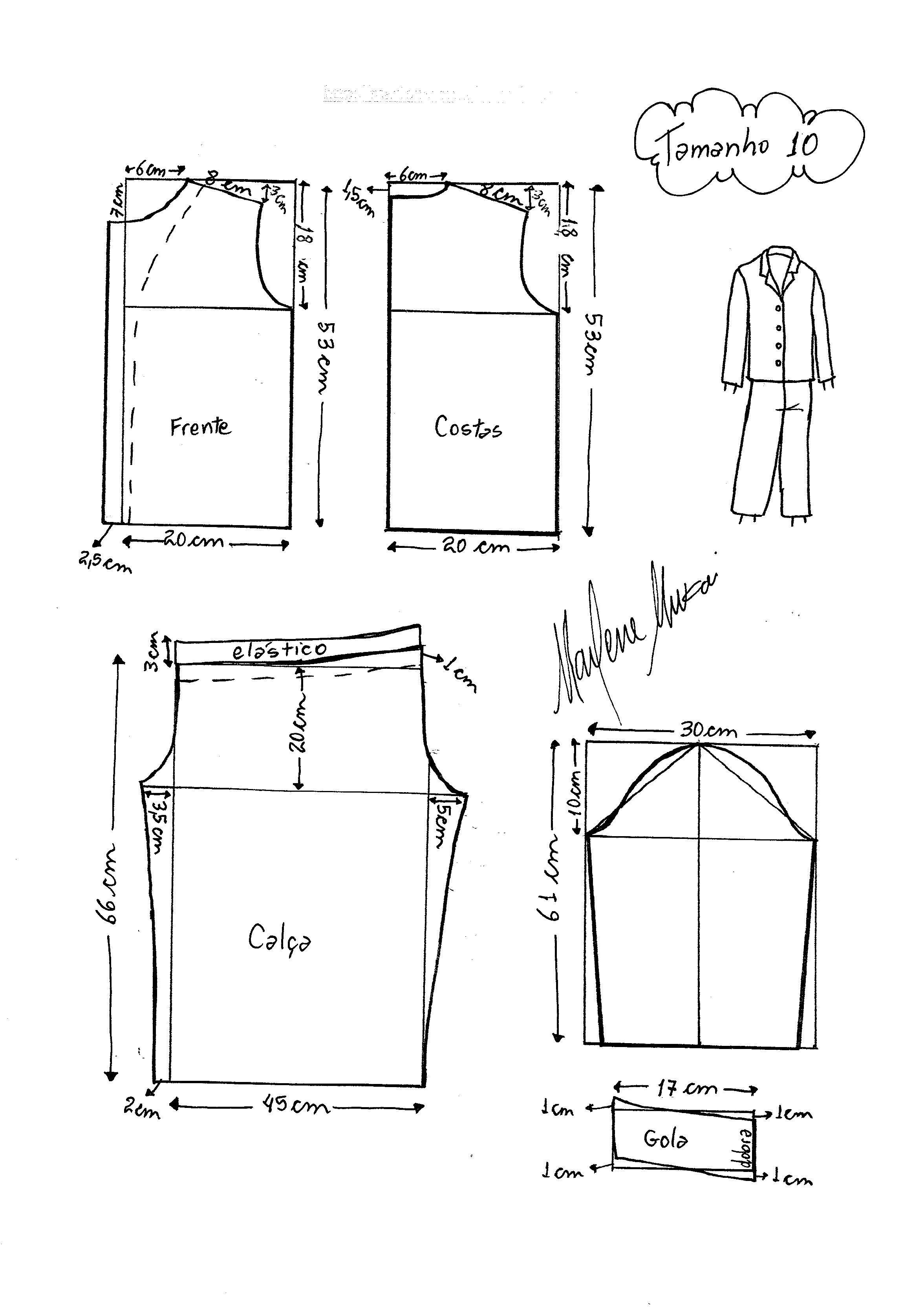 Pin de Oleyda Castro en patrones | Sewing, Sewing patterns y Pattern