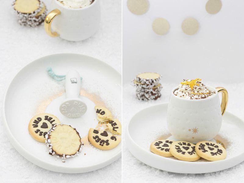 {Meine Woche mit räder} - Auf Schokoladen-Wolke 7: köstliche Kekse & heiße Orangen-Schokolade mit Sahne - Backbube