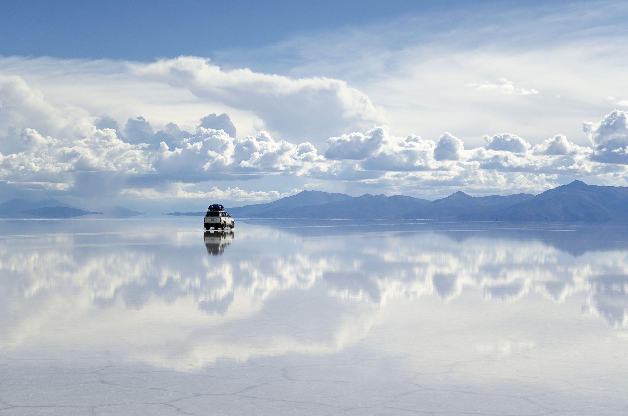 Salar De Uyuni, Bolivia - Uyuni Salt Flat, Bolivia