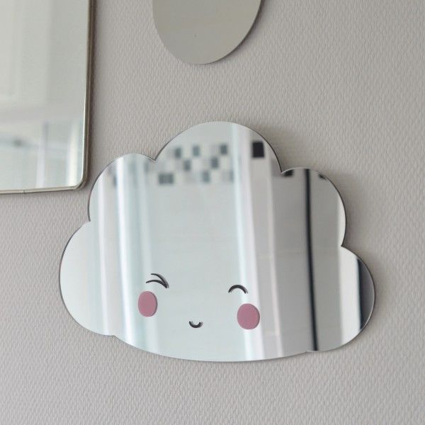miroir Nuage A little lovely company - deco-graphic.com | Chambre d ...