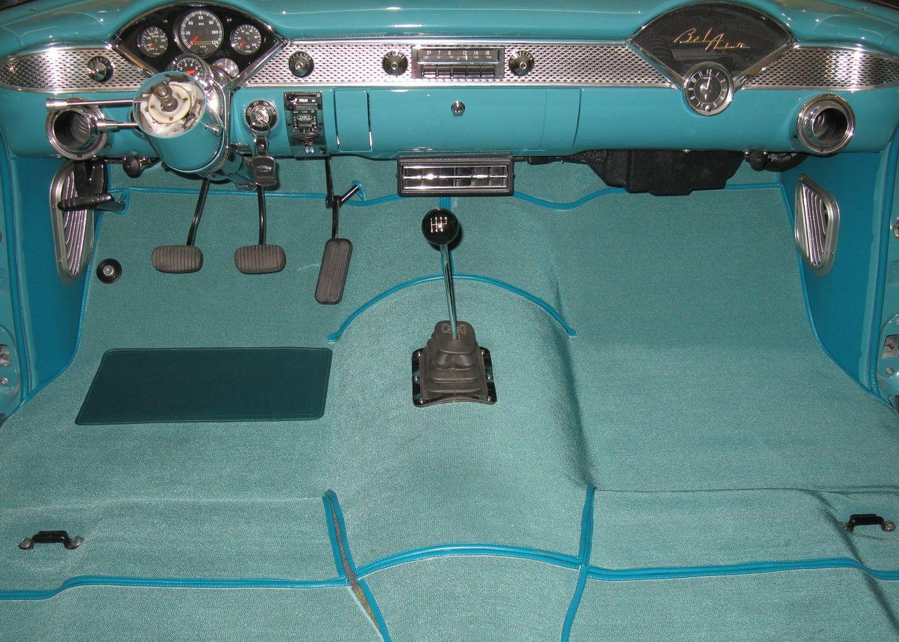 Carpet Trifive Com 1955 Chevy 1956 Chevy 1957 Chevy Forum Talk About Your 55 Chevy 56 Chevy 57 Chevy Belair 210 15 55 Chevy Truck Interior 1955 Chevy