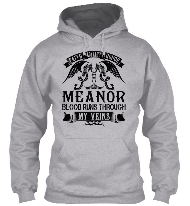 MEANOR - My Veins Name Shirts #Meanor