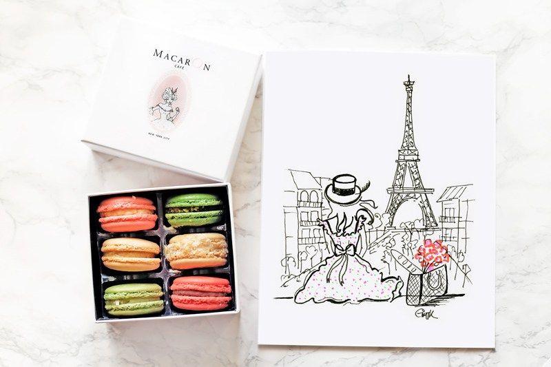 Картинки по запросу макарон кафе париж (с изображениями ...
