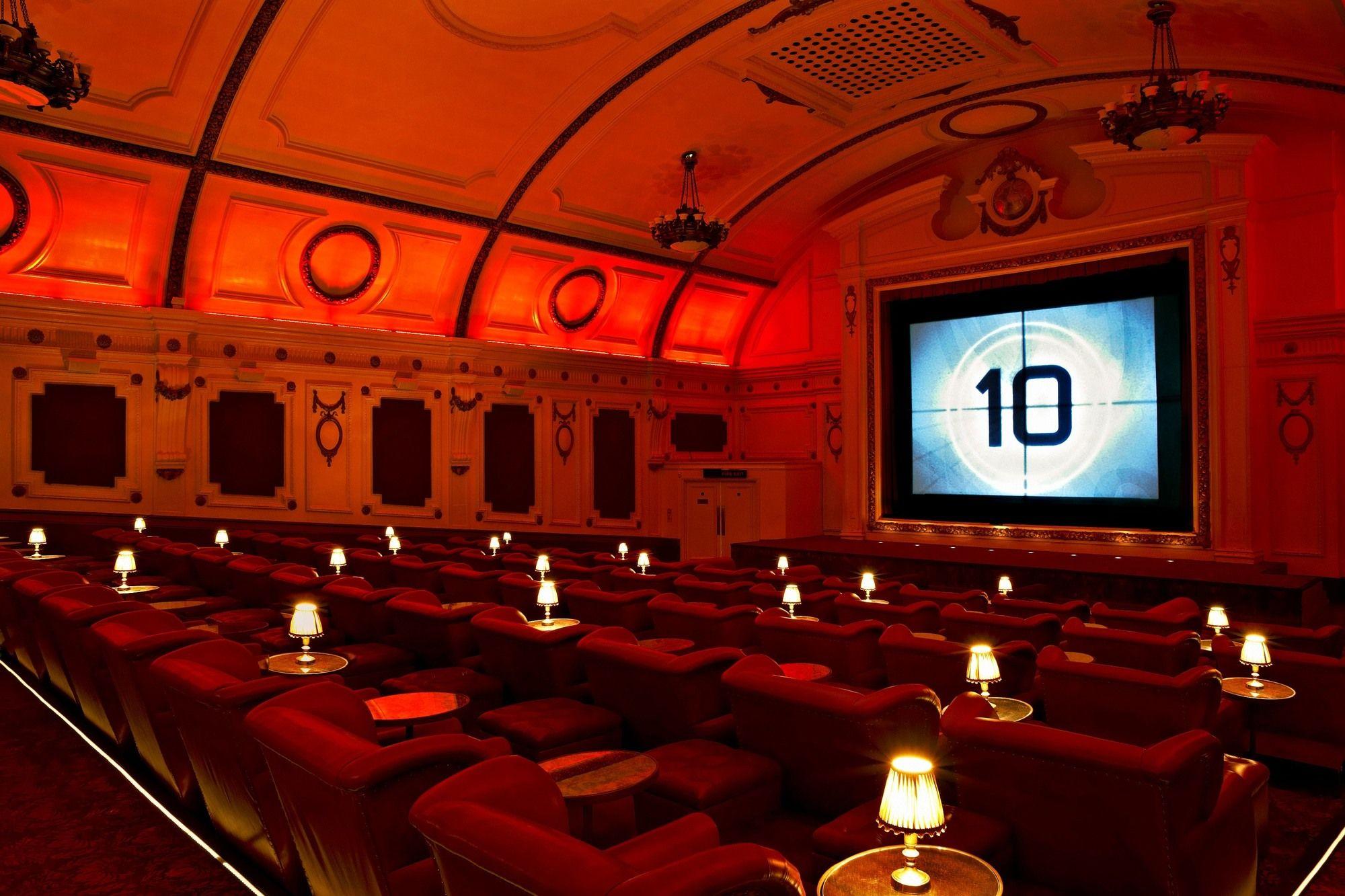 Soho House Cinemas Cinemas In London Cinema Design