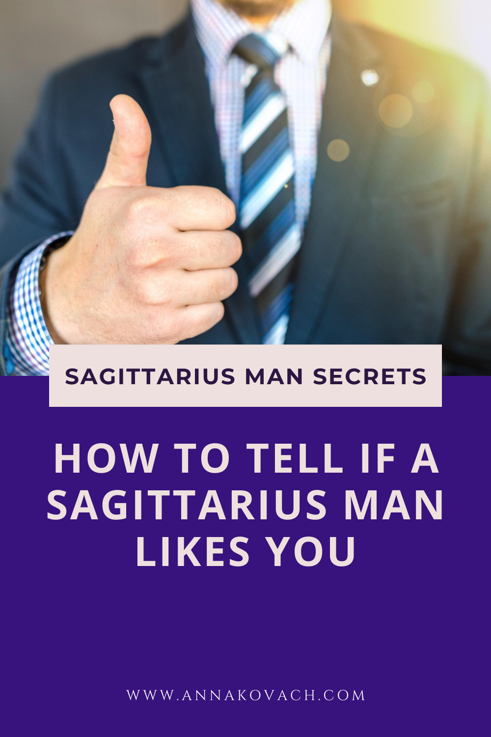 How to Tell If a Sagittarius Man Likes You for Sure? 5
