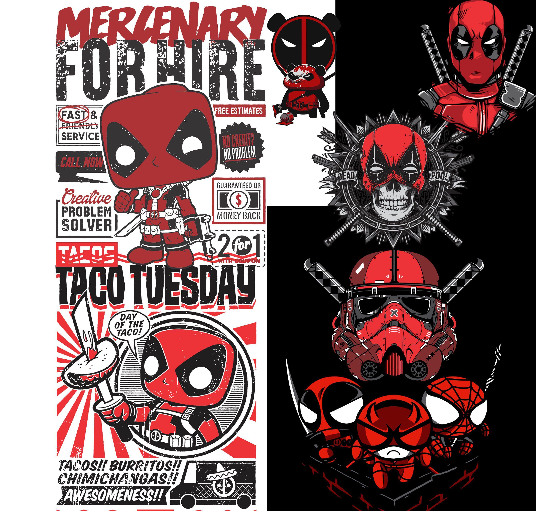 Deadpool Svg Bundle 7 Pack Clipart Dxf Eps Cricut File Vector Download Tacos Stormtrooper Kung Fu Panda Spiderman Daredevil Kung Fu Clip Art Kung Fu Panda Etsy