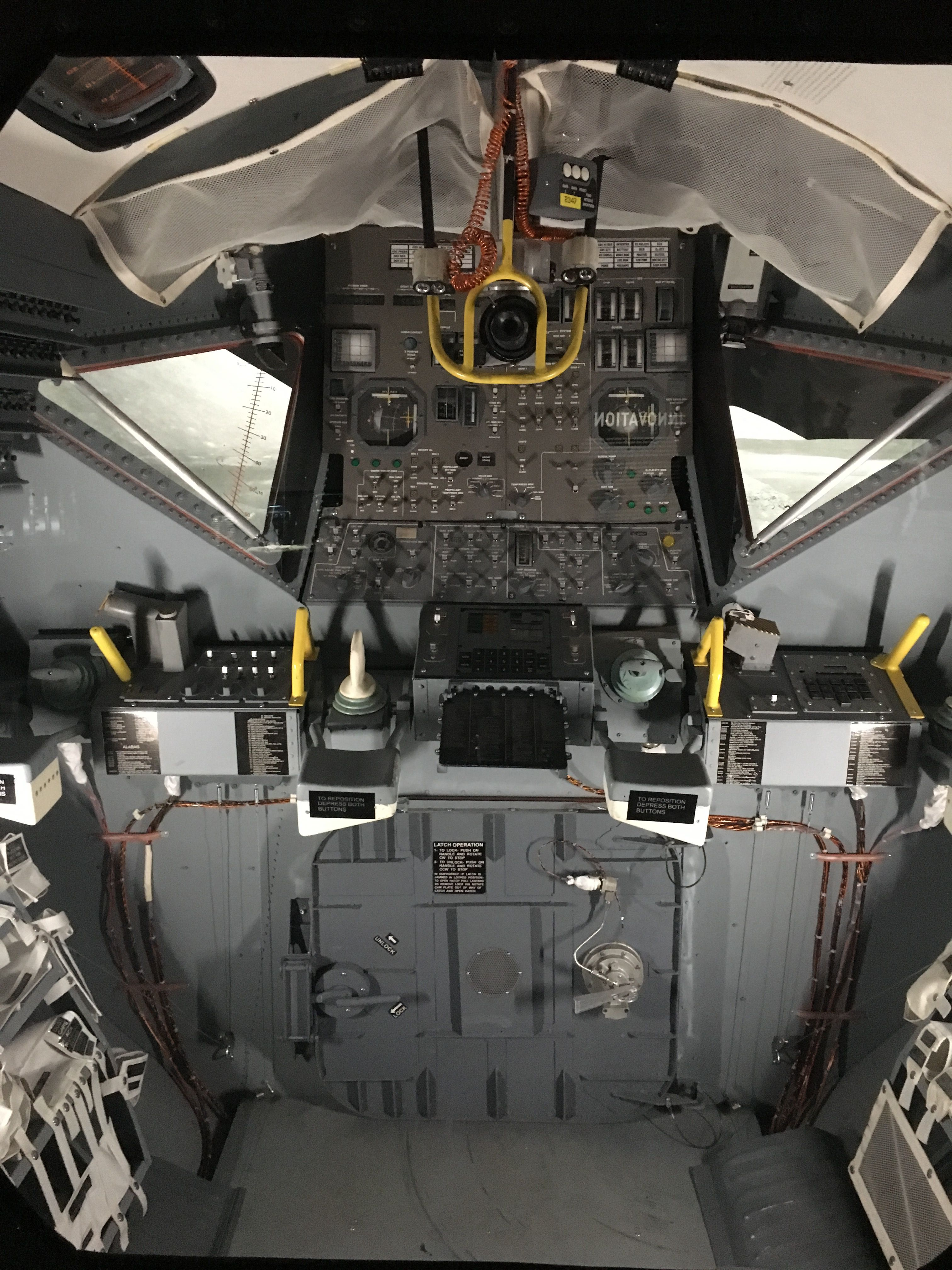 Inside Lunar Module   I love space   Apollo space program, Space