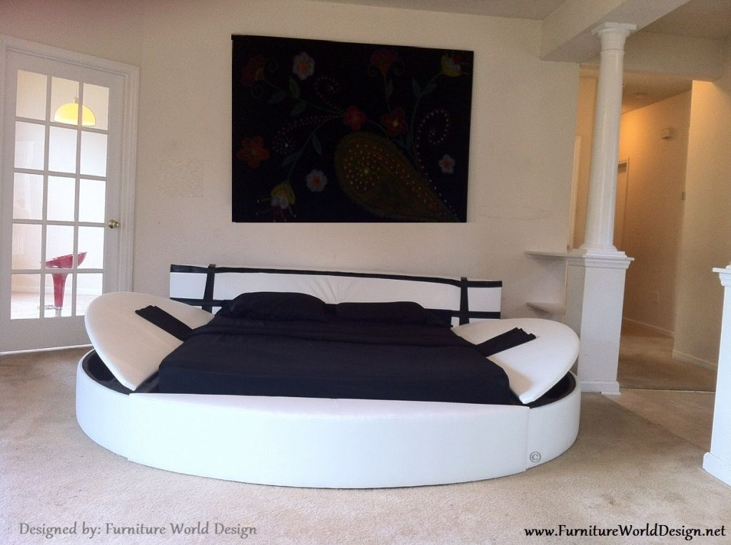 Awesome Round King Size Bed