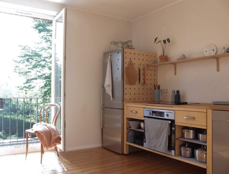 stylish-ikea-kitchen-from-used-ikea-components Pinterest Graphic - küchen ikea gebraucht