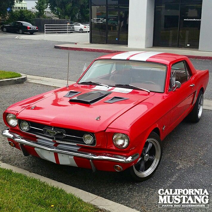 1965 Mustang Coupe Red