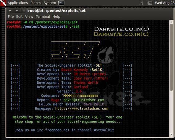 Hack Remote Pc Using ShellCodeExec In Social Engineering Tool Kit