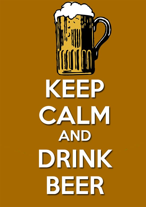 Keep Calm Have a Beer Paper Print | Beer poster, Keep calm and ...