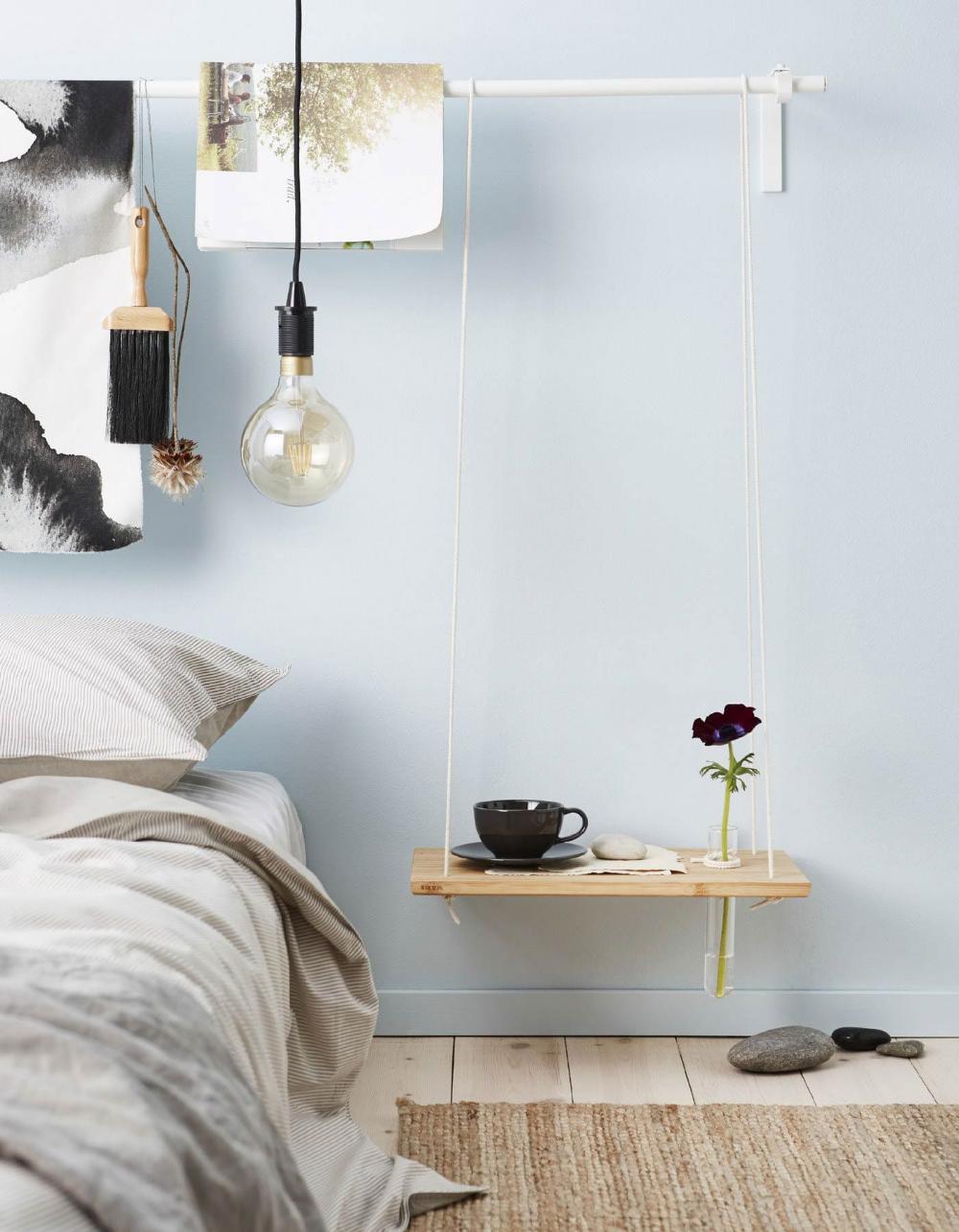 DIY bedside table ideas Decor, Room decor, Small room