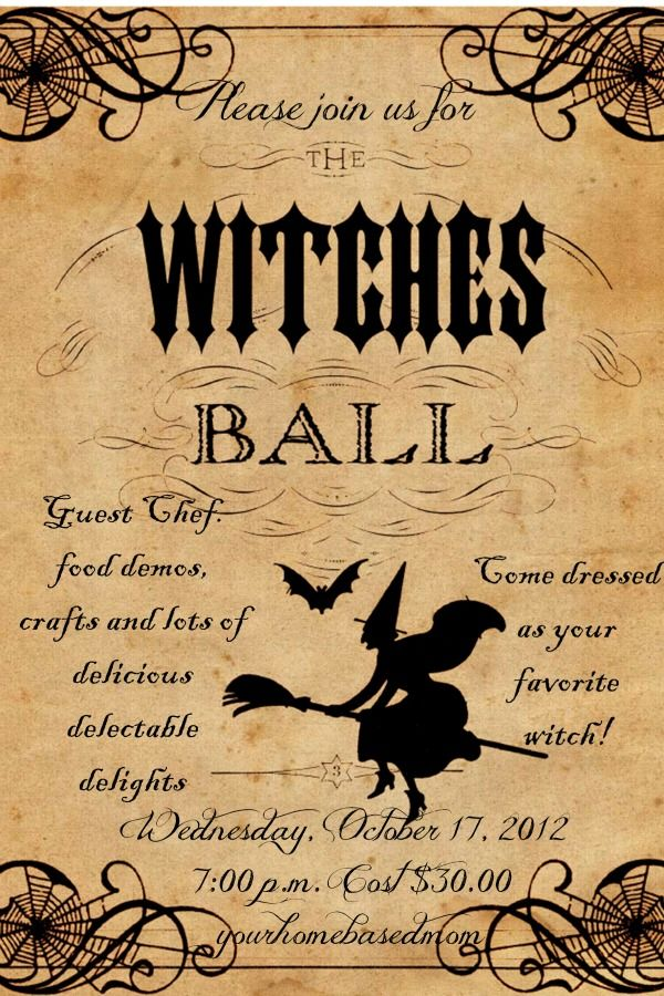 Witches\' Ball | Witches, Samhain and Halloween parties
