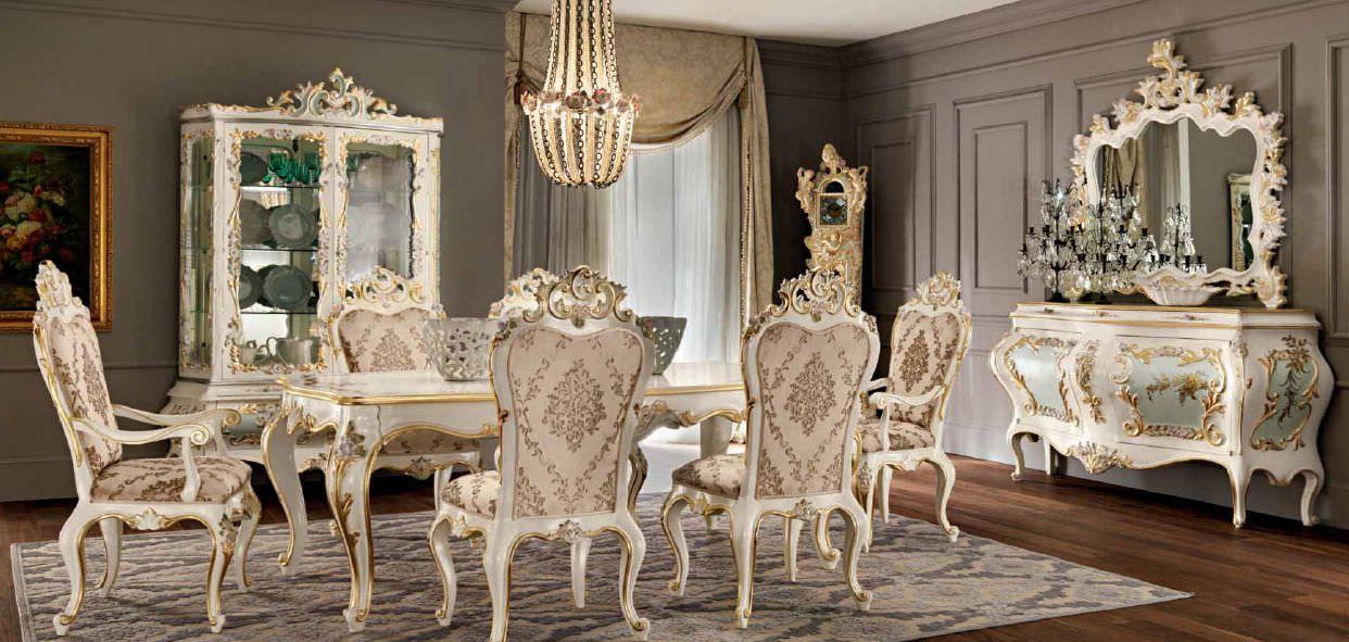 Dining table / classic / wooden / rectangular VILLA VENEZIA: 11111 ...
