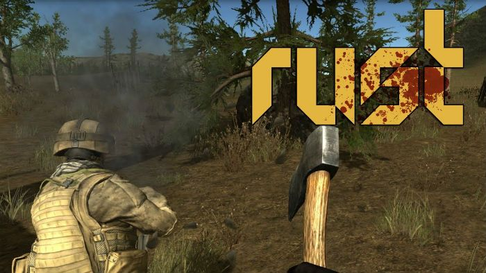 rust games like dayz in rust the player takes place in the open