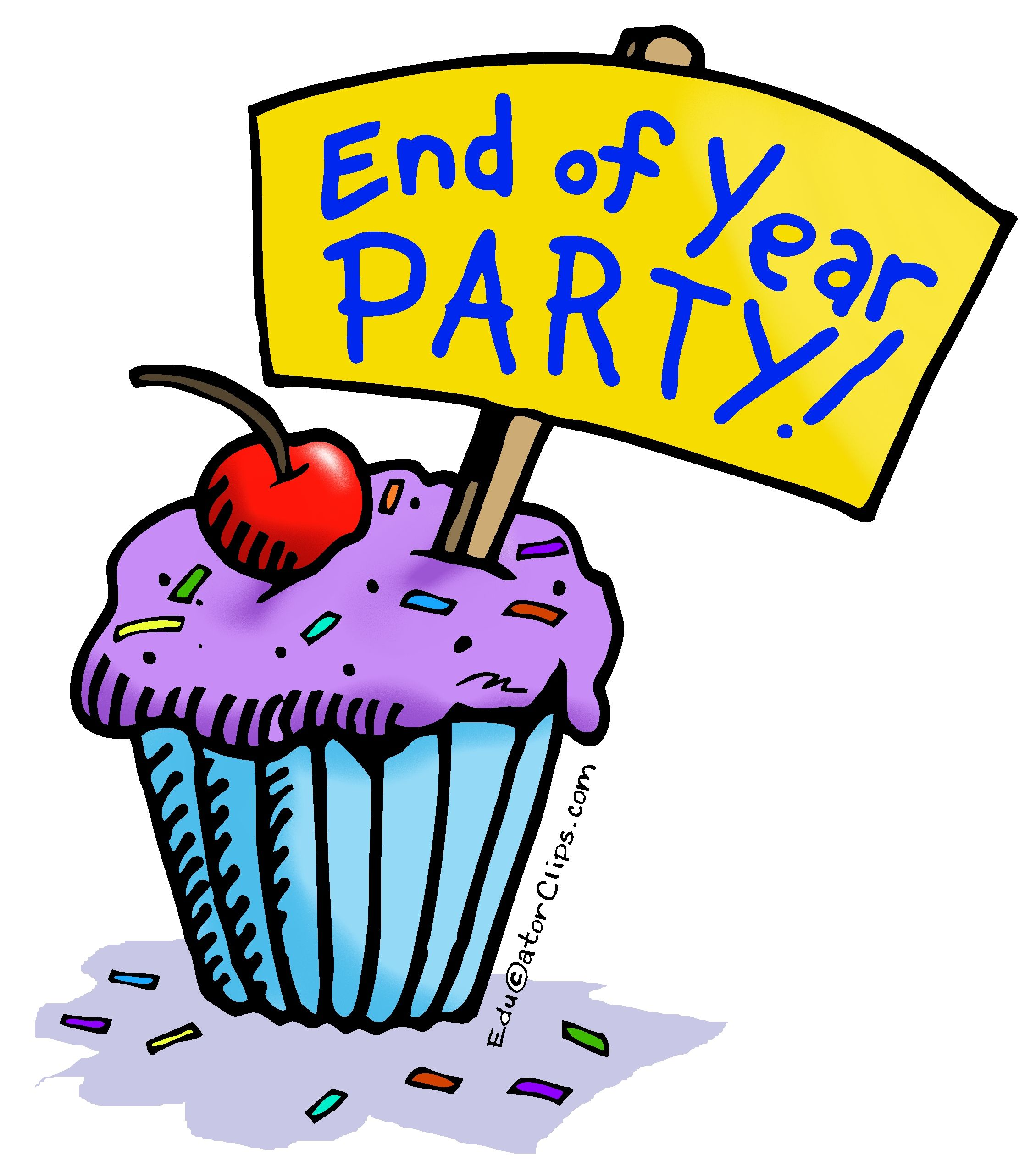 small resolution of end of year party clip art use this clip art to announce the end of the year party www educatorclips com