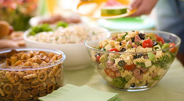 10 Ideas For A Wedding Potluck Reception Food Reception