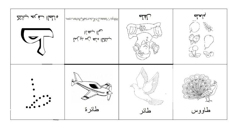 كتاب حرف الطاء Arabisches Alphabet Alphabet Arabisch