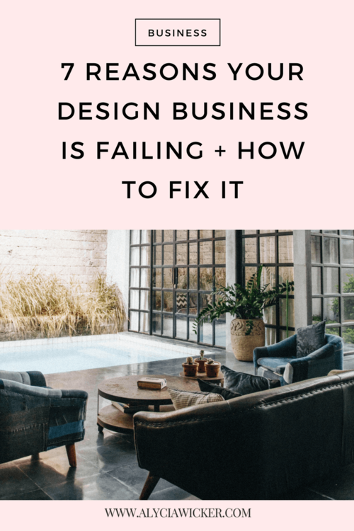 7 Reasons Your Design Business Is Failing How To Fix It Online
