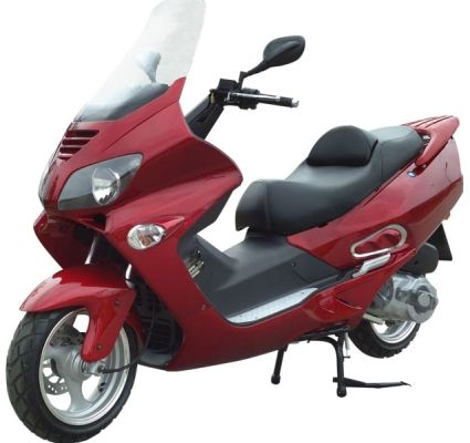 300cc Deluxe Touring Gas Moped Scooter Gas Moped Moped Scooter
