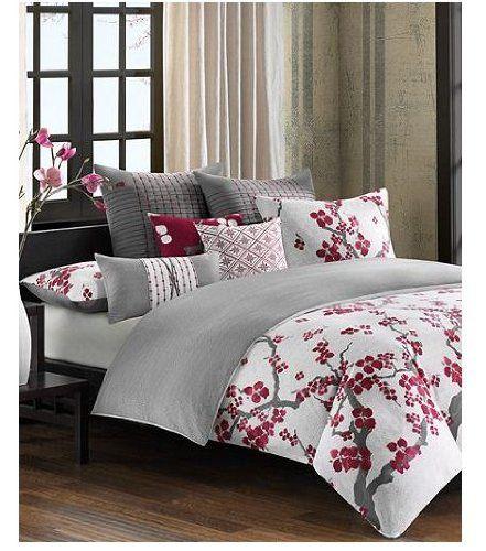 N Natori Cherry Blossom Comforter Sets And Duvet Covers Duvet Covers Bed Bath Macy S Bedroom Comforter Sets Comfortable Bedroom Home