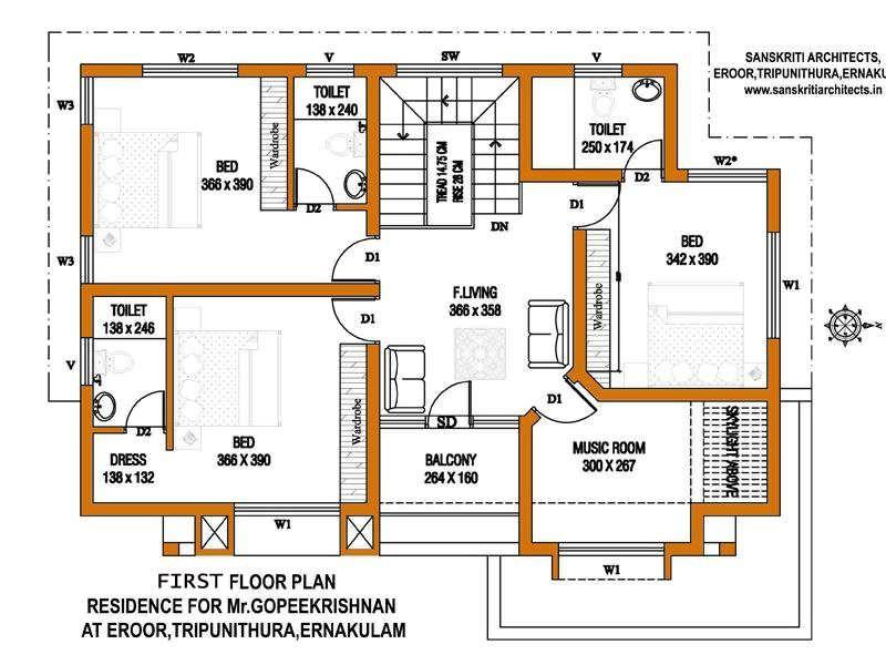 Kerala House Plans Estimate Sq Ft Home Design Big House Floor Plan Large  Images House Plan Su House Floor Plans Kerala House Plans Estimate Sq Ft  Home ...