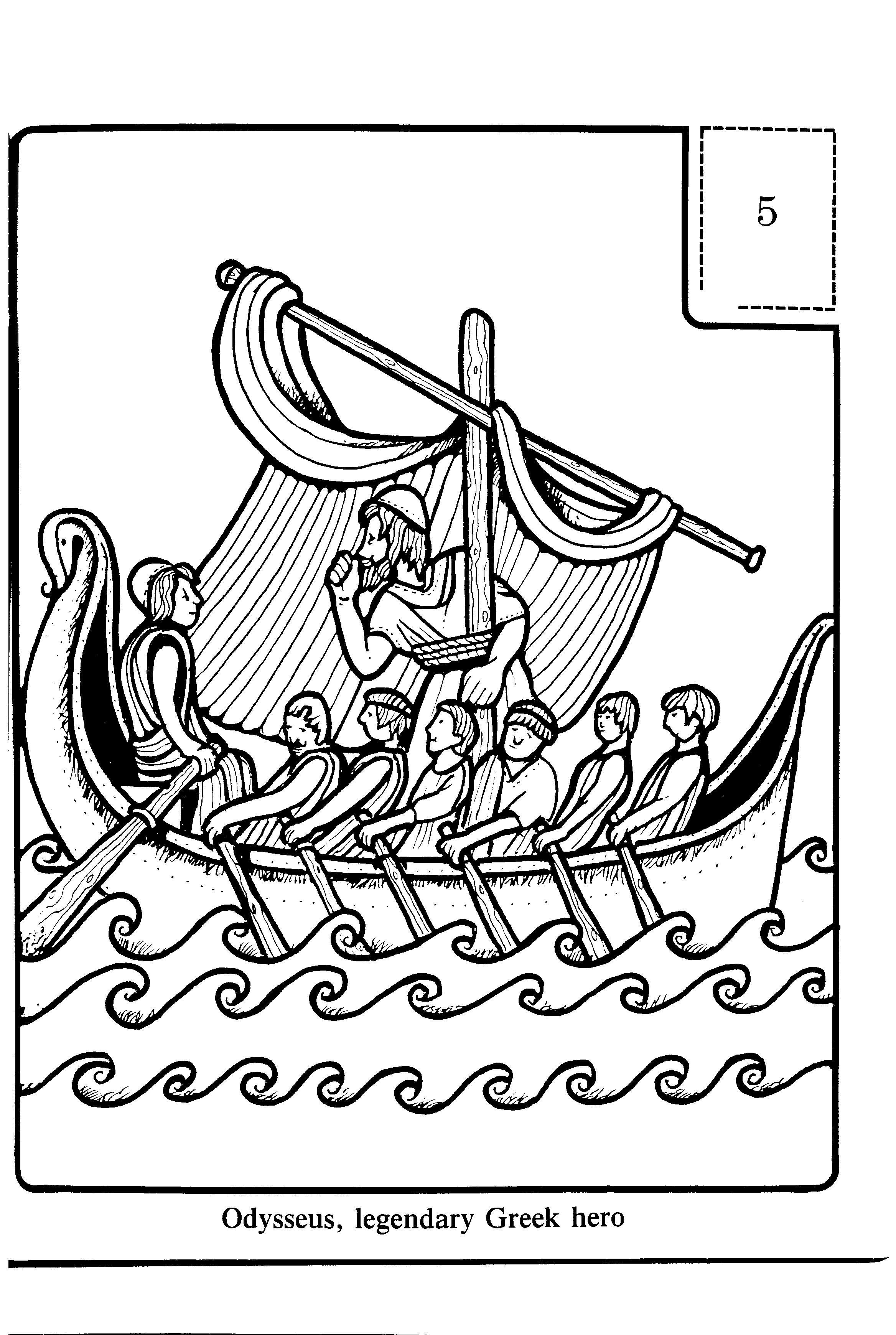 Odysseus Legendary Greek Hero