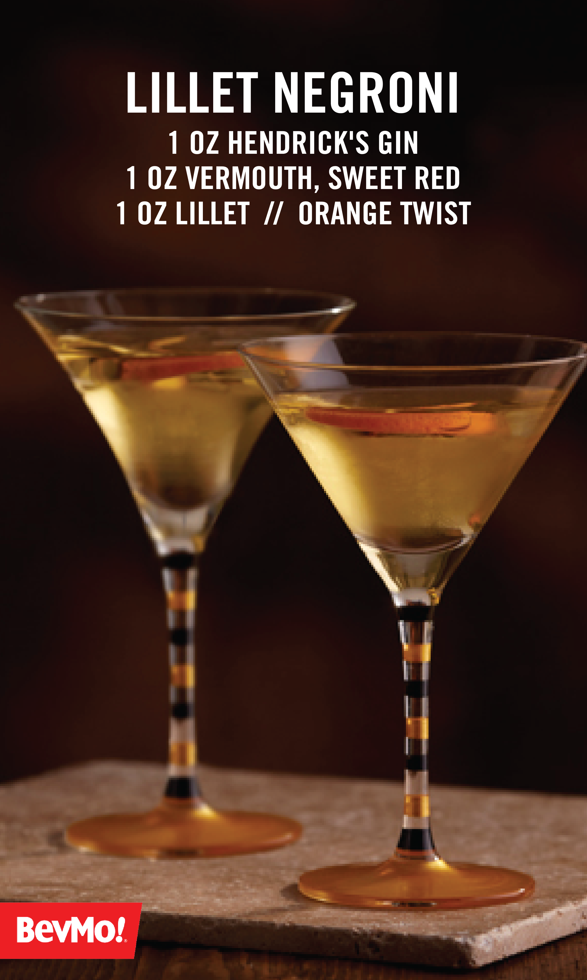Lillet Negroni   Gin Recipes! in 2019   Restaurant drinks