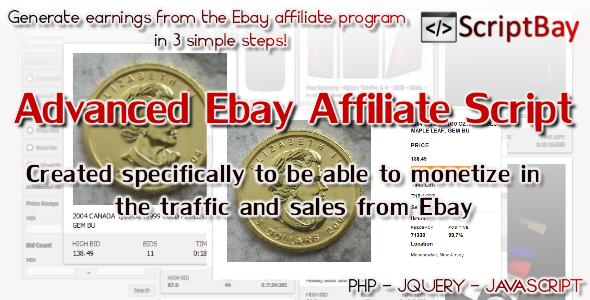 Scriptbay Advanced Affiliate Ebay Script Ebay Script How To Make Money