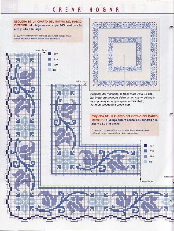 Solo Patrones Punto Cruz (pág. 2308) | Aprender manualidades es facilisimo.com