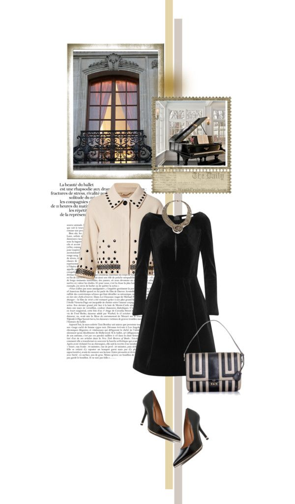 """""""MOSCHINO Beige/Black Dot Studded Wool Jacket"""" by mrs-box ❤ liked on Polyvore"""