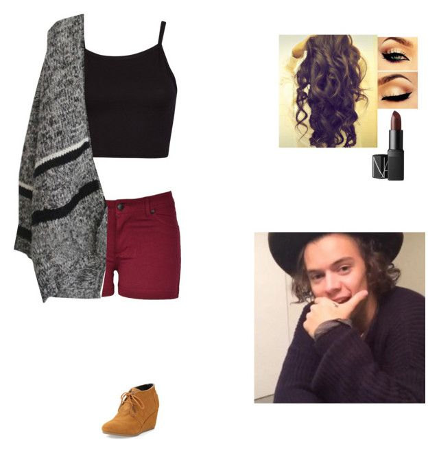 """""""First day of the year with Harry"""" by emily0317 ❤ liked on Polyvore featuring TOMS, NARS Cosmetics and Too Late"""
