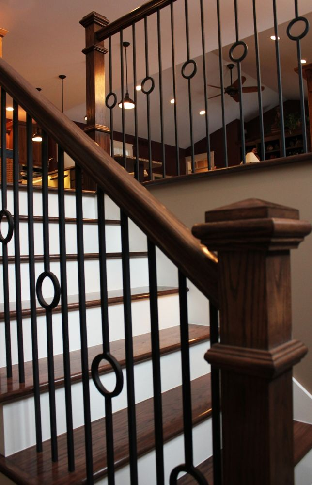 Best Black Metal Spindle Staircase Metal Staircase Railing 400 x 300